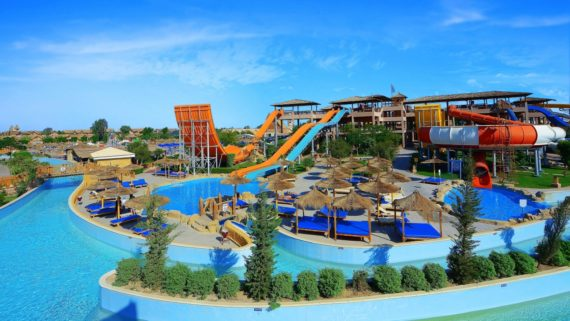 Cairo and Hurghada aqua park resort vacation 10 days 9 nights